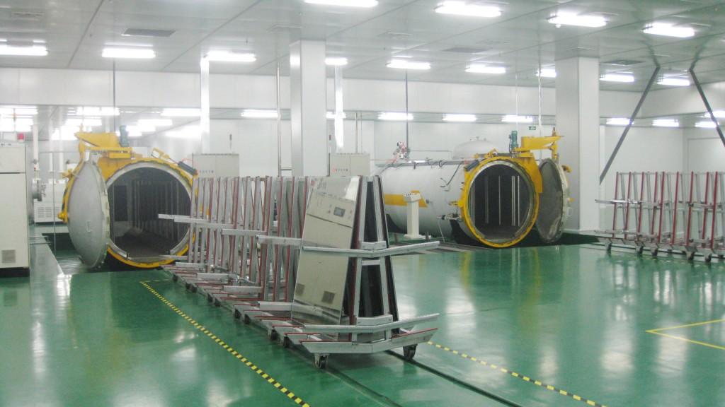 Autoklavensystem zur VSG Herstellung von LNG Shenyang